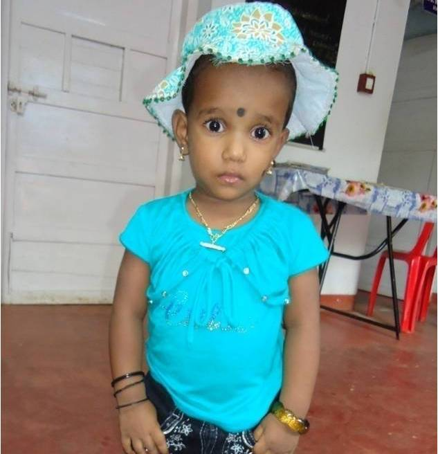 After treatment Baby Nissy started standing, walking and talking and no longer has cerebral palsy