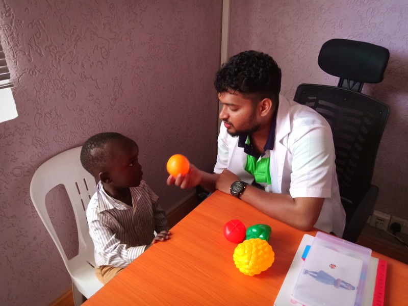 Speech Therapy will ensure that your little Angel speaks with ease