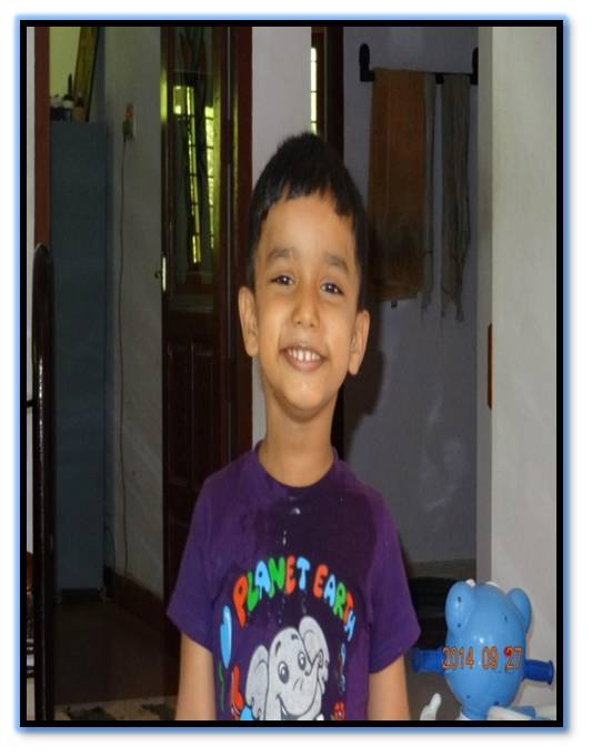 Jacob after autism treatment with Jivadhara